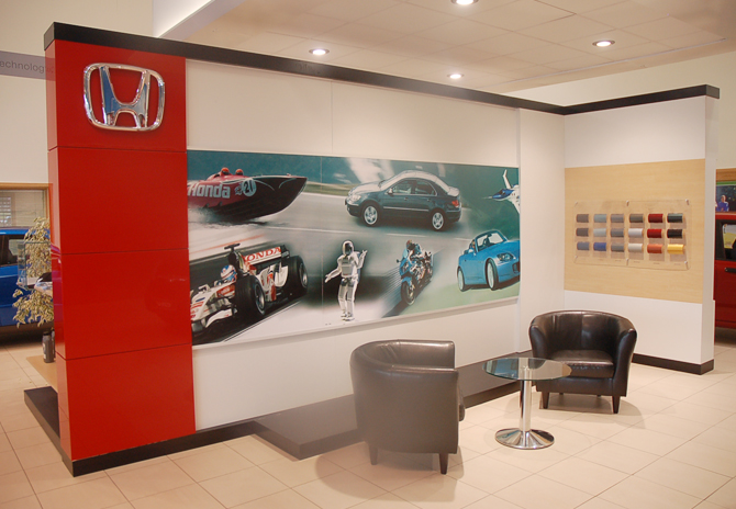 Honda showrooms ali maguire design services interior exhibition graphic design ireland - Costa coffee head office telephone number ...