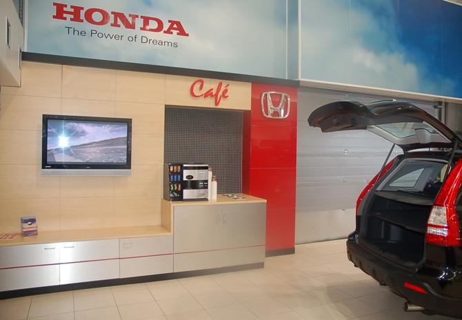 Honda Showrooms