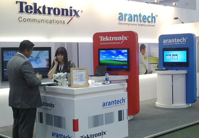 Tektronix & Arantech @ TMForum